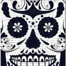 Decor Collectible Kitchen Fridge Magnet - Flower Sugar Skull #9