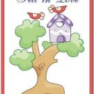 Beautiful Cute Decor Collectible Kitchen Fridge Magnet - Birdhouse & Birdies #5