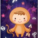 Cute Beautiful Astrology Zodiac Sign Decor Collectible Fridge Magnet-Sagittarius