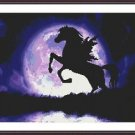 Cross-Stitch Embroidery Color PATTERN with DMC thread codes - Twilight Pegasus