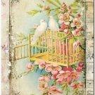 Primitive Country Folk Art Kitchen Refrigerator Magnet ~ Vintage Shabby Chic #68