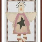 Cross-Stitch Embroidery Color Digital Pattern with DMC codes - Country Angel