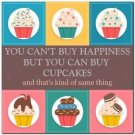 Funny Collectible  Kitchen Fridge Refrigerator Magnet ~  You Can't Buy Happiness