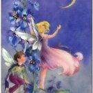 Beautiful Vintage Decor Collectible Kitchen Fridge Magnet - Bedtime Story Fairy