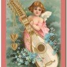 Vintage Valentine's Day Love Kitchen Refrigerator Magnet - Cute Victorian Cupid