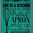 Primitive Country Folk Art Kitchen Refrigerator Magnet ~ Nice Kitchen Quote