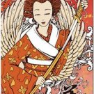 Beautiful Decor Collectible Kitchen Fridge Magnet - Fantasy Japanese Geisha #3