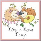 Beautiful Cute Decor Collectible Kitchen Fridge Magnet ~ Life of Hedgehogs #6