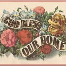 Vintage Collectible Art Kitchen Fridge Refrigerator Magnet - Bless Our Home