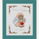 Cross-Stitch Embroidery Color Pattern with DMC codes-The Tale of Peter Rabbit #7