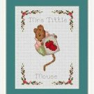 Cross-Stitch Embroidery Color Pattern with DMC code-The Tale of Peter Rabbit #10