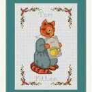 Cross-Stitch Embroidery Color Pattern with DMC codes-The Tale of Peter Rabbit #6