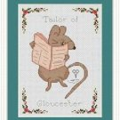 Cross-Stitch Embroidery Color Pattern with DMC codes-The Tale of Peter Rabbit #8