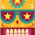 Decor Collectible Kitchen Fridge Magnet - Flower Sugar Skull #7