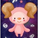 Cute Beautiful Astrology Zodiac Sign Decor Collectible Fridge Magnet - Aries