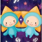 Cute Beautiful Astrology Zodiac Sign Decor Collectible Fridge Magnet - Gemini