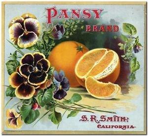 Primitive Country Folk Art Kitchen Refrigerator Magnet -Vintage Label Magnet #10