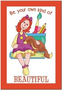 Beautiful Cute Decor Collectible Kitchen Fridge Magnet - Pretty Raggedy Ann