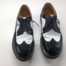 Doc Martens 3989/59 Black and White Spectator Shoes Mens Size 8 UK fits like a US Size 9