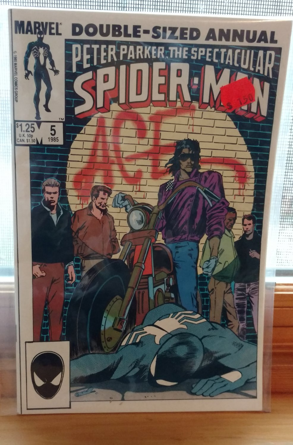 Peter Parker, The Spectacular Spider Man Anuual #5 - 1985