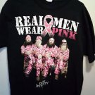 Duck Dynasty Real Men Wear Pink T-Shirt Black Mens Size L