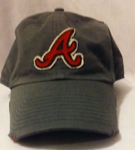 Atlanta Braves The Franchise Perfect Fit Grey Baseball Hat