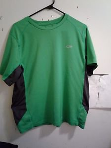 Champion Dry Fit Shirt-Green and Black