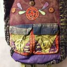 Peace Sign Backpack/Bookbag MULTICOLORS