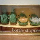 Boston Warehouse Bottle Stoppers-Everglade Garden