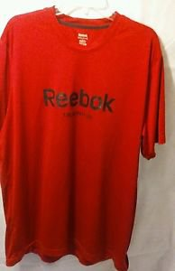 Reebok Training Red Short Sleeve Dri Fit Shirt