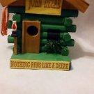 John Deere Log Cabin Birdhouse