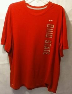 Nike Ohio State Red Dri Fit Shirt