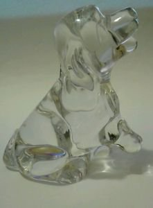 24% Lead Crystal Princess House Pets Figurine Made in Germany