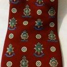 Tommy Hilfiger Necktie w/Medallions Designs 100%Italian Silk