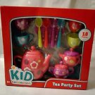 Tea Cup Party Play Set 18 Pieces 3+ New Plastic Play Time Toys Kids Connection