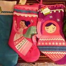 4 Christmas Stockings New w/ Tags