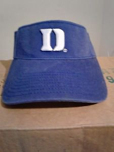 Vintage The Game Duke Bluedevils Sunvisior