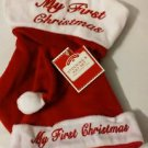 My First Christmas Stocking & Hat Set