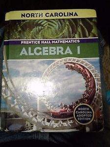 Algebra 1 Prentice Hall Mathematics (Hardcover)NC Edition