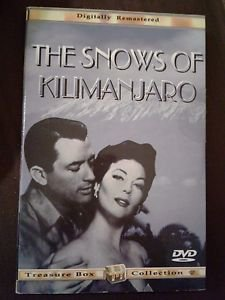 The Snow of Kilimanjaro DVD Gregory Peck Susan Hayward Color