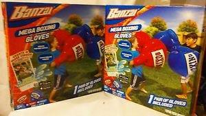 (4 Gloves)BANZAI MEGA BOXING GLOVES KIDS OUTDOOR INDOOR  PAIR SET INFLATABLE