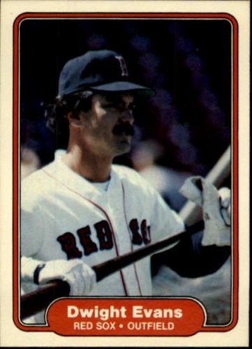 Dwight Evans Red Sox Reunion 1982 Fleer (C0045)