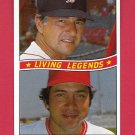 Carl Yastrzemski & Johnny Bench 1984 Donruss (C0047)