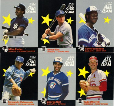 Mike Easler 1987 Fleer All Star (C00122)