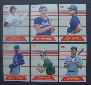 Keith Hernandez 1987 Fleer Headliner (C00133)