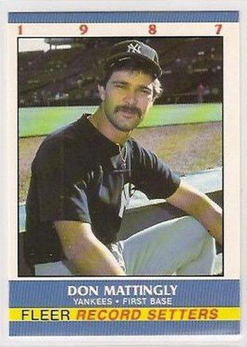 Don Mattingly 1987 Fleer Record Setters (C00166)
