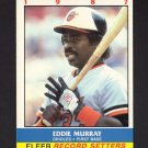 Eddie Murray 1987 Fleer Record Setters (C00168)