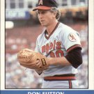 Don Sutton 1987 Fleer Record Setters (C00173)