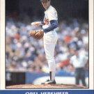 Orel Hershiser 1987 Fleer Record Setters (C00173)