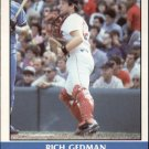 Rich Gedman 1987 Fleer Record Setters (C00181)